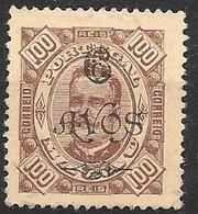 Macau Macao Mint Hinged 1902 22 Euros - Unused Stamps