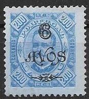 Macau Macao Mint Hinged 1902 9 Euros - Unused Stamps