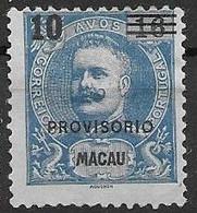 Macau Macao Mint Hinged 1900 15 Euros - Unused Stamps