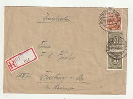"All.Besetzung - 1948 - Reco-Brief (Not-R-Zettel) Ex ""Dortmund-Hoerde"" (1/067) - Gemeinschaftsausgaben"