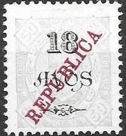 Macau Macao Mint Hinged 1913 30 Euros - Unused Stamps