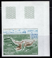 F.S.A.T. (1989) Mouflon. Corner Imperforate. Scott No 149, Yvert No 141. - Non Dentellati, Prove E Varietà