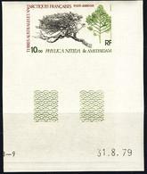 F.S.A.T. (1979) Phylika Tree. Corner Imperforate. Scott No C59, Yvert No PA60. - Sin Dentar, Pruebas De Impresión Y Variedades