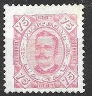 Macau Macao Mint Hinged 1894 75 Euros - Unused Stamps