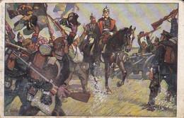 AK König Wilhelms Ritt Um Sedan 1870 - Wohlfahrts-Künstlerkarte - 1911 (54435) - Andere Kriege