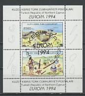 Europa CEPT 1994 Chypre Turque - Cyprus - Zypern Y&T N°BF13 - Michel N°B13 (o) - 1994