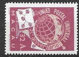 Macau Macao Mint Never Hinged ** 100 Euros 1949 UPU - Unused Stamps