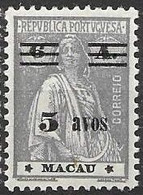Macau Macao Mint Hinged * 120 Euros 1933 - Unused Stamps