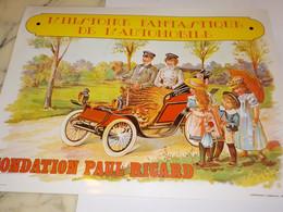 HISTOIRE FANTASTIQUE DE L AUTOMOBILE FONDATION PAUL RICARD - Collections