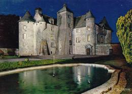 Orcival Château De Cordès De Nuit (carte Vierge) - Kastelen