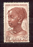 A.O.F. Afrique Occidentale Francaise - Französisch Westafrika 1947 - Michel Nr. 51 O - Oblitérés