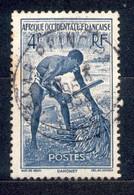 A.O.F. Afrique Occidentale Francaise - Französisch Westafrika 1947 - Michel Nr. 46 O - Oblitérés