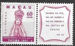 Macau Macao Mint Hinge Trace * (80 Euros) 1951 - Unused Stamps