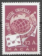 Macau Macao Mint Never Hinged 100 Euros ** 1949 - Unused Stamps