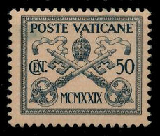 VATIKAN Nr 6 Ungebraucht X7C4946 - Unused Stamps