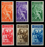 VATIKAN Nr 45-50 Postfrisch Ungebraucht X7C48F6 - Unused Stamps