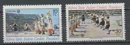 Europa CEPT 1981 Chypre Turque - Cyprus - Zypern Y&T N°88 à 89 - Michel N°98 à 99 *** - 1981