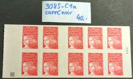 Carnet N° 3085-C1a (Carré Noir) Neuf ** TTB - Uso Corrente