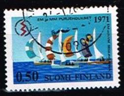 FINLANDE/Oblitérés/Used/1971 - Voile / YVT N°658  - MI.N°695 - Oblitérés