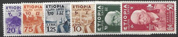 Ethiopia 1936 Mh * 116 Euros (only Cheap 30c Missing To Complete Set) - Ethiopia