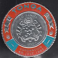 Tonga 1967 MH Sc #175 1s Coat Of Arms Coronation King Taufa'ahau IV - Tonga (...-1970)