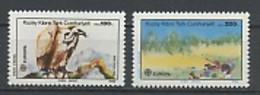 Europa CEPT 1986 Chypre Turque - Cyprus - Zypern Y&T N°(1) à (2) - Michel N°179 à 180 *** - 1986