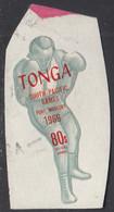 Tonga 1969 Used Sc #CO26 80s Boxer South Pacific Games - Tonga (...-1970)