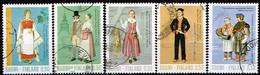 FINLANDE/Oblitérés/Used/1972 - Costumes Nationaux / YVT N°674/678  - MI.N°710/714 - Oblitérés
