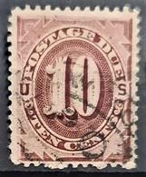 USA 1879 - Canceled - Sc# J5 - Postage Due 10c - Portomarken