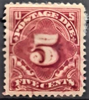 USA 1910/12 - Canceled - Sc# J48 - Postage Due 5c - Portomarken
