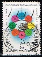 FINLANDE/Oblitérés/Used/1973 - Coopération Sécurité En Europe / YVT N°679  - MI.N°715 - Oblitérés