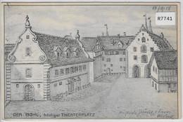 Alt-St. Gallen . Der Bohl, Heutiger Theaterplatz - SG St. Gallen
