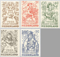 1949 Kind NVPH 544-548 Ongestempeld - Unused Stamps