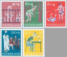 1959 Kind NVPH 731-735 Postfris/MNH/** - Unused Stamps