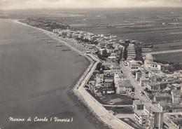 MARINA DI CAORLE-VENEZIA-CARTOLINA VERA FOTOGRAFIA- VIAGGIATA IL 4-9-1957 - Venezia