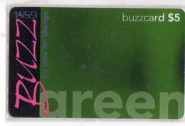 TANZANIE RECHARGE BUZZCARD 5$ GREEN Date 01/07/2001 - Tanzania