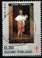 FINLANDE/Oblitérés/Used/1973 - Artistes- Peintres  / YVT N°694  - MI.N°730 - Oblitérés