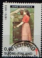 FINLANDE/Oblitérés/Used/1973 - Artistes- Peintres  / YVT N°696  - MI.N°732 - Oblitérés