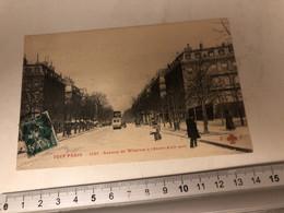 Cpa 75 Tout Paris Avenue Wagram 17ème - Andere