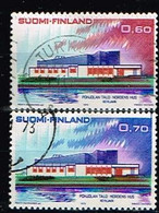 FINLANDE/Oblitérés/Used/1973 - Norden / YVT N°690/691  - MI.N°724/725 - Oblitérés