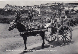 PETRALIA SOTTANA-PALERMOCARRETTO DELLE MADONIE-CARTOLINA VERA FOTOGRAFIA- VIAGGIATA IL 1-12-1963 - Palermo