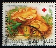 FINLANDE/Oblitérés/Used/1974 - Croix Rouge / Champignons / YVT N°718  - MI.N°754 - Oblitérés