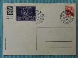 AUSTRIA - Cartolina + Erinnofilo WIPA 1933 + Spese Postali - FDC