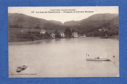 25 - VILLERS Le LAC : Lac De Chaillexon. Pargots Et Col Des Roches En 1914 - Altri Comuni