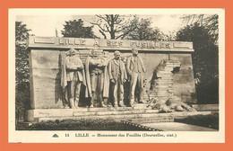 A562 / 449 59 - LILLE Monument Des Fusillés - Zonder Classificatie