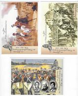 """DEUTSCHLAND - 3x Postkarten """"100 Jahre Völkerschlacht Bei Leipzig"""" - 923 - Other Wars"""