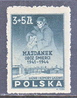 POLAND  B 45   **  DEATH, GAS, PRISON  CAMP - Neufs