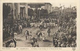"""CPA MAROC """"Casablanca, Le Sultan"""" - Casablanca"""