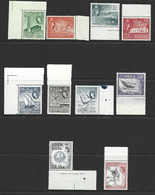 Aden 1964 New Watermark Definitives Set Of 10 Marginal MNH - Aden (1854-1963)