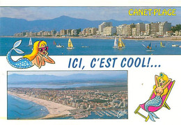 66 -  Canet Plage - Multivues - Humour Sirene  A 711 - Canet Plage